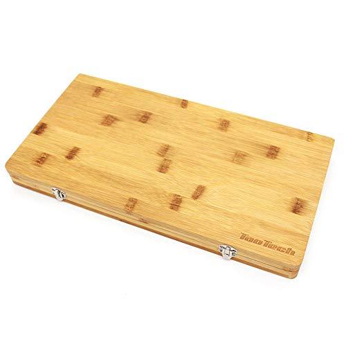 TaoTech 竹製 まな板 アウトドア カッティングボード 家庭用 折り畳み マナイタ