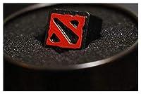 メカニカルキーボード用キーキャッププラー 1ピーキーキャップパーソナライズされたエンボス加工亜鉛アルミニウムメタルキャップ機械キーボードR4ハイトボタン キーキャッププラー (Color : 7)