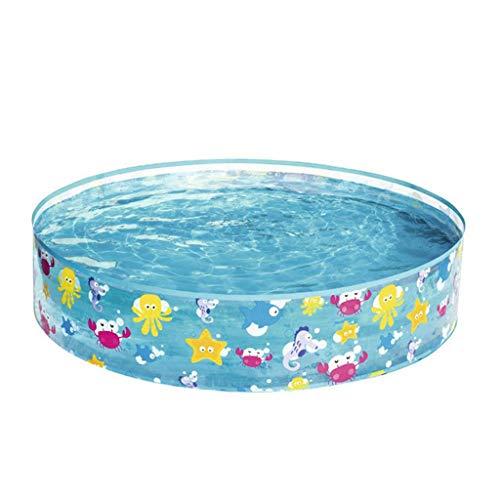 Zyj 122 * 25cm Aufblasbare Baby-Swimmingpool bewegliches im Freien Kinderbecken Badewanne Kinder-Pool Baby-Swimmingpool