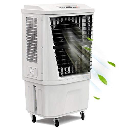 Bakaji Raffrescatore Rinfrescatore Ventilatore Umidificatore Inizzatore d'aria Air Cooler Massima Potenza Raffreddamento Serbatoio 40 Litri Ghiaccio Acqua Filtro Antipolvere Timer e Telecomando