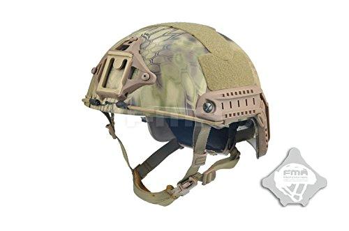 FMA Tactical Highlander Ballistic High Cut XP Helmet Airsoft Paintball (L/XL)