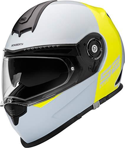 SCHUBERTH S2 Sport Rojoux Amarillo Integral Casco De Motocicleta Tamano S