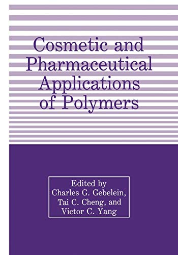 Cosmetic and Pharmaceutical Applications of Polymersの詳細を見る