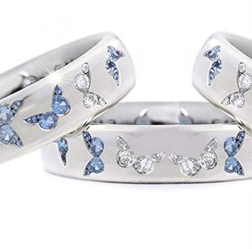 Eheringe, Innovative Ringe Mit Glänzendem Strass Niedliche Flexible Arbeitssicherheit Design Schöne Elegante Legierung Ring Für Mädchen
