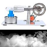 WNSC Modelo Educativo, Motor Potente Motor Stirling práctico y Duradero, Mini generador de...