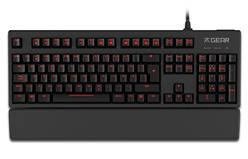 Fnatic Gear Rush Cherry MX Red (Layout US)