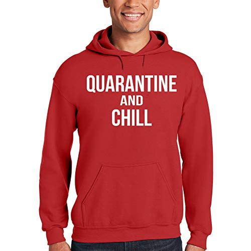 Quarantine and Chill Stay Safe at Home Fight Coronavirus COVID-19 Hoodie