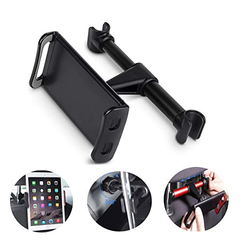 Konesky Car Tablet Holder Voorkant, Universele Tablet Houder Mount Voorruit Dashboard Tablet Auto Houder, Zwart