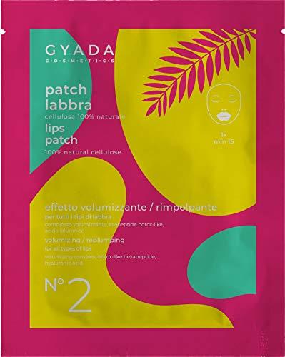 Gyada Cosmetics Gc039 Patch Labbra N. 2 Volumizzante/Rimpolpante ● Certificato Bio ● Made in Italy ● 5 ml