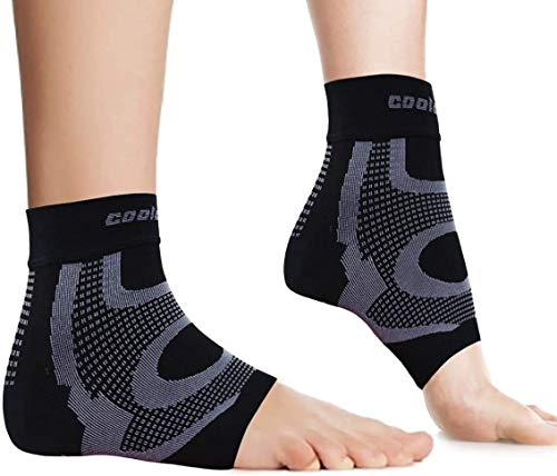 COOLOMG Knöchelbandage Sprunggelenk BandageFußbandagenFußgelenkstütze Stabilisierung Fußgelenk XL