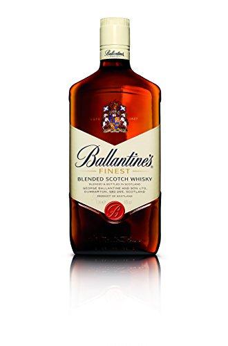 Ballantines Finest Blended Scotch Whisky – Milder Blend aus schottischen Malt & Grain Whiskys – Mit zartem Geschmack, ausgereiftem Aroma & frischem Abgang – 1 x 1 L