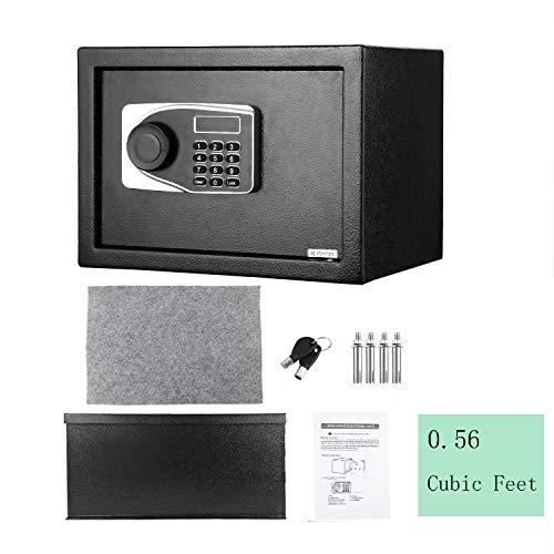 Cassaforte da 16 L, Digital Elettronica Sicuro, Versione da Incasso, 35 x 25 x 25 cm [Disponibile in Europa]