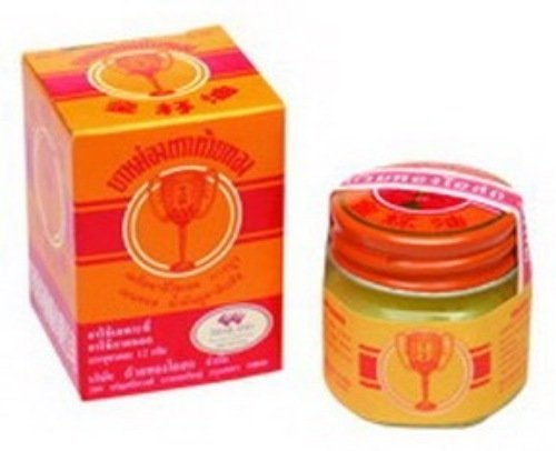 Golden Cup Balm 22g (3 Pack) Product of Thailand