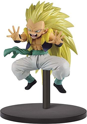 Banpresto Dragon Ball S Super Warrior II fusion Figure Figurine 10cm SS3 Gotenks