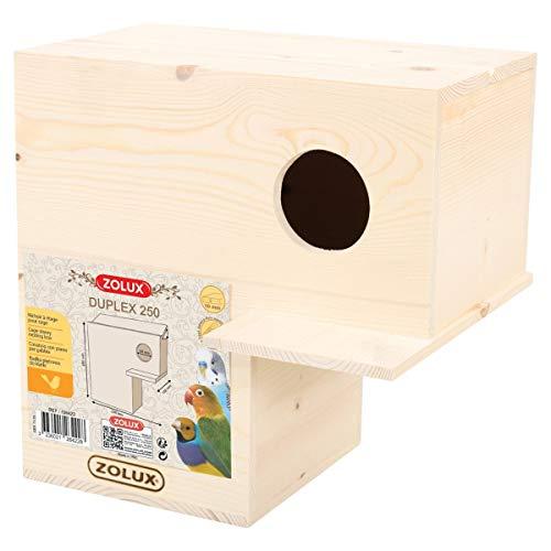 Zolux Nichoir Duplex 250 pour Oiseau
