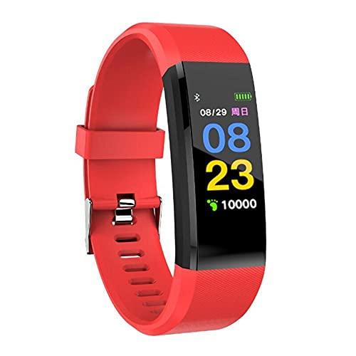 Pulsera Inteligente Salud Fitness Deportes Pulsera Inteligente115Plus Pulsera Smart Band Tracker Smartband Pulsera Bluetooth Smart Watch-5 Pulsera Inteligente Con Pulsómetro Mejor Rastreador De Sue