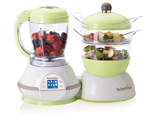 Babymoov Nutribaby - 5 in 1 Baby Food Maker with Steam Cooker