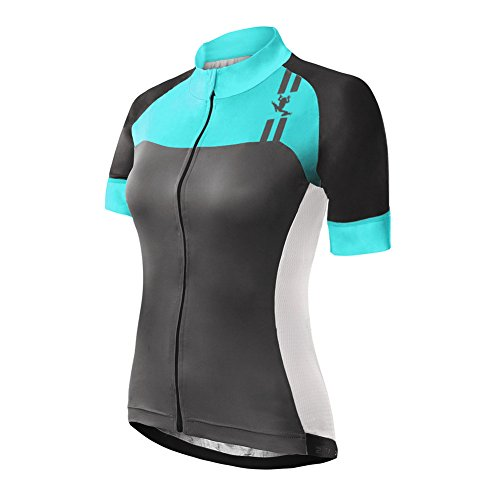 Uglyfrog ZO04 2018-2019 MTB New Damen Kurze Hülse Zyklus Jersey Kurzarm Fahrradtrikot Fahrrad Hemd Fahrrad Top Outdoor Sports Radfahren Style-Update Frauen Trikot