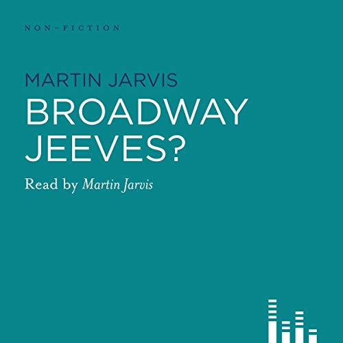 Broadway, Jeeves? cover art