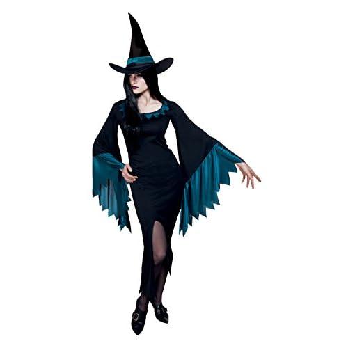 Boland- Costume Adulto Strega Scary Witch, Ottanio/Nero, M, 79060