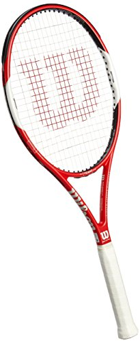 Wilson Six.One Team 95 TNS RKT W/O Raqueta de Tenis, Unisex Adulto, Rojo/Blanco/Negro (Red/White/Black), 3