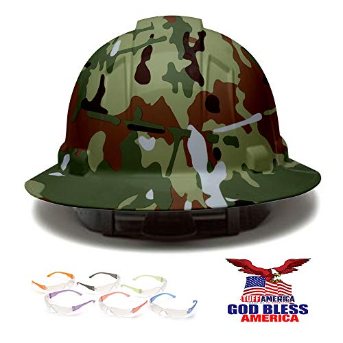 full brim hard hat camouflage - 1