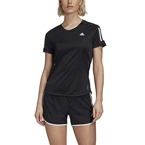adidas Own The Run Camiseta, Core Negro, 3X para Mujer