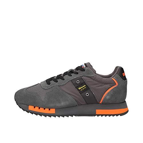 Blauer F0QUEENS01/MES Sneakers Uomo Grigio 45