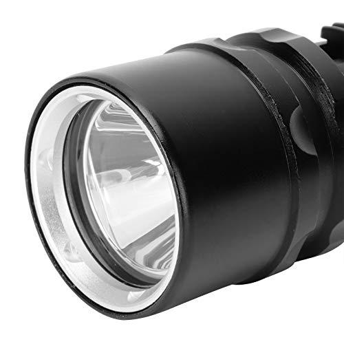 Wosune Linterna de luz Fuerte, Linterna de aleación de Aluminio para Acampar para Caminar al Aire Libre para Buceo Submarino