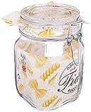 Bormioli Vasos con Cierre de Clip, 6 x 1 litro