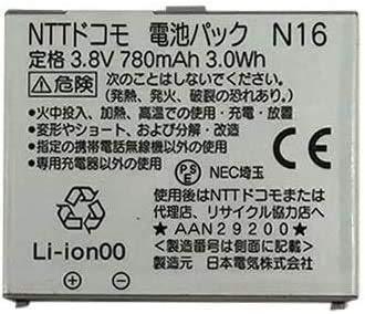 純正品 純正品 NTTドコモ 純正電池パック N16[NEC FOMA N904i対応](整備済み品)