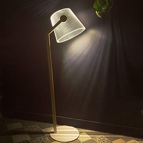 Studio Cheha ZIGGI - lampadaire LED Effet 3D - Couleurs - Transparent