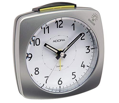 Adora Quarzwecker | Crecsendo Blinklicht-Alarm Snooze schleichende Sekunde 33484
