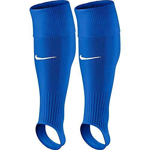Nike Performance Sleeve Fußballstutzen, Royal Blue/White, L