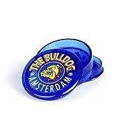 """bulldog [grinder garanzia a vita] 2""""(55mm) spezie erbe grinder in 3 pezzi tritino in plastica - blu"""