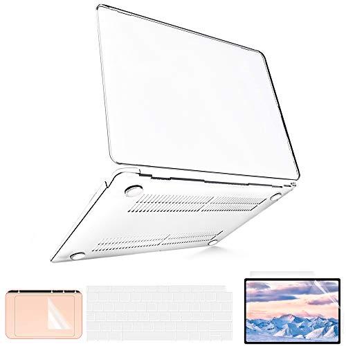 B BELK Funda MacBook Air 13 Pulgadas 2020 2019 2018 con Protector...