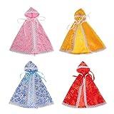 Colcolo 4 Lotes de Bonitos Mantos de Accesorios de Ropa para 1/6 Blythe SD BB Outfits