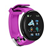 cicadi Unisex Casual Multifunctional Round Shape Bluetooth Smart Wristband Smartwatches