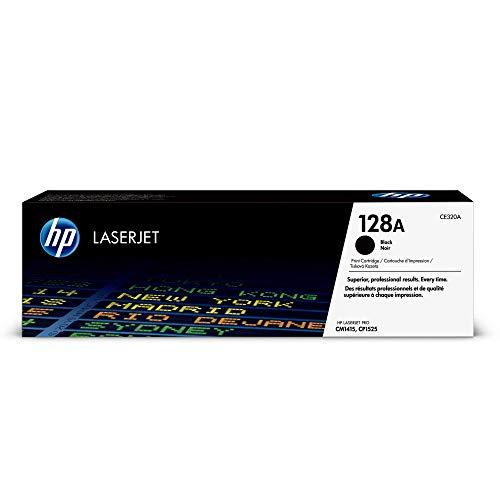 HP 128A CE320A Schwarz Original Toner fur HP Laserjet Pro CP1525 HP Laserjet Pro M1415