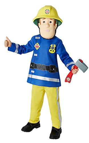 Rubies - Disfraz infantil con diseo Fireman Sam, talla S (I-610901S)