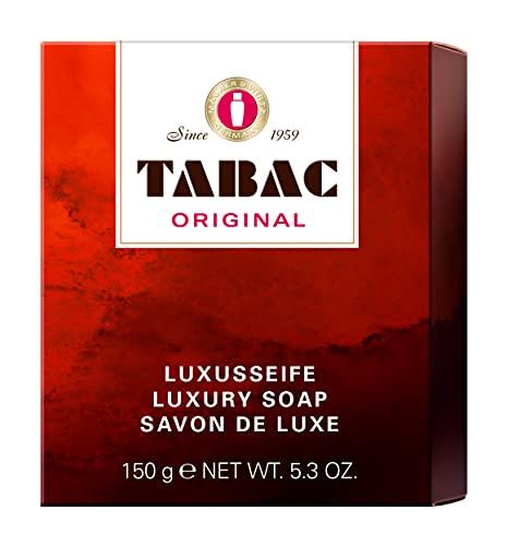 Tabac® Original   Luxusseife - von feinster Qualität - mild - große Schaumfülle - Original Seit 1959   150g
