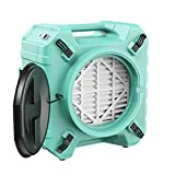 ALORAIR PureAiro HEPA Pro 770 industrial Air Scrubber, 3-Stage Filtration System, 550 CFM, GFCI Outlet, Negative Air Machine, Air Cleaner for Water Damage Restoration