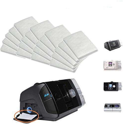 courti 20 STÜCKE CPAP-Filter Für Resmed Airsense Premium-Einweg-Universal-Ersatzfilter CPAP-Filter Für AirSense 10, AirCurve 10-S9-AirStart-Serie CPAP-Geräte