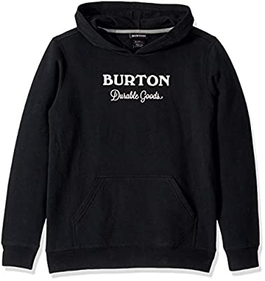 Burton Boys Durable Goods Pullover, True Black, Medium