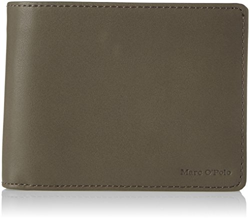 Marc O'Polo Herren W50 Brieftasche, Grau (Grey), 2x9.5x12.5 cm