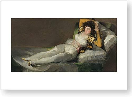 'La maja vestida', impresión oficial del Museo del Prado