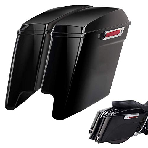 SUDOO Extended Hard Motorcycle Saddlebags
