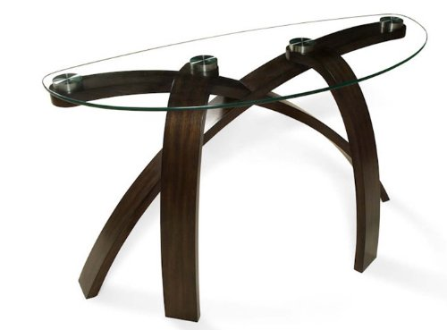 Magnussen Furniture Sofa Table in Hazelnut - Allure Collection