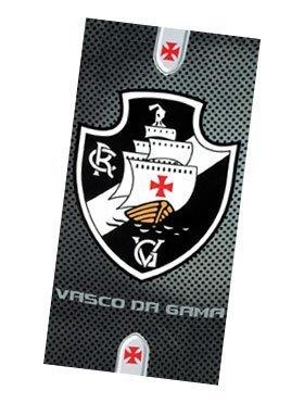 Vasco Da Gama 01, squadra di calcio brasiliana, Asciugamano Da mare IN velours, 76,20 cm x (30 152,40 (60 cm, MADE IN BRAZIL