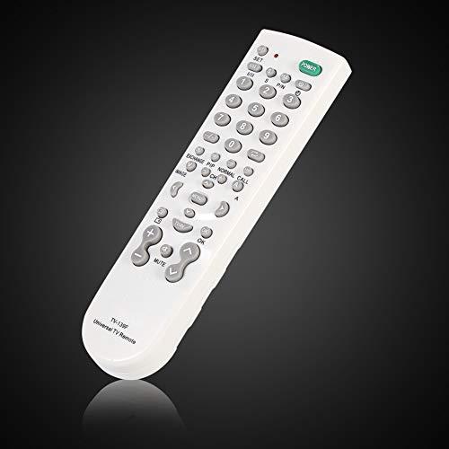 Gedourain Controlador de TV Inteligente LCD LED, cómodo Control Remoto de TV de Rendimiento Estable y Ahorro de energía Mayor Distancia de transmisión para la mayoría de Las Marcas de TV